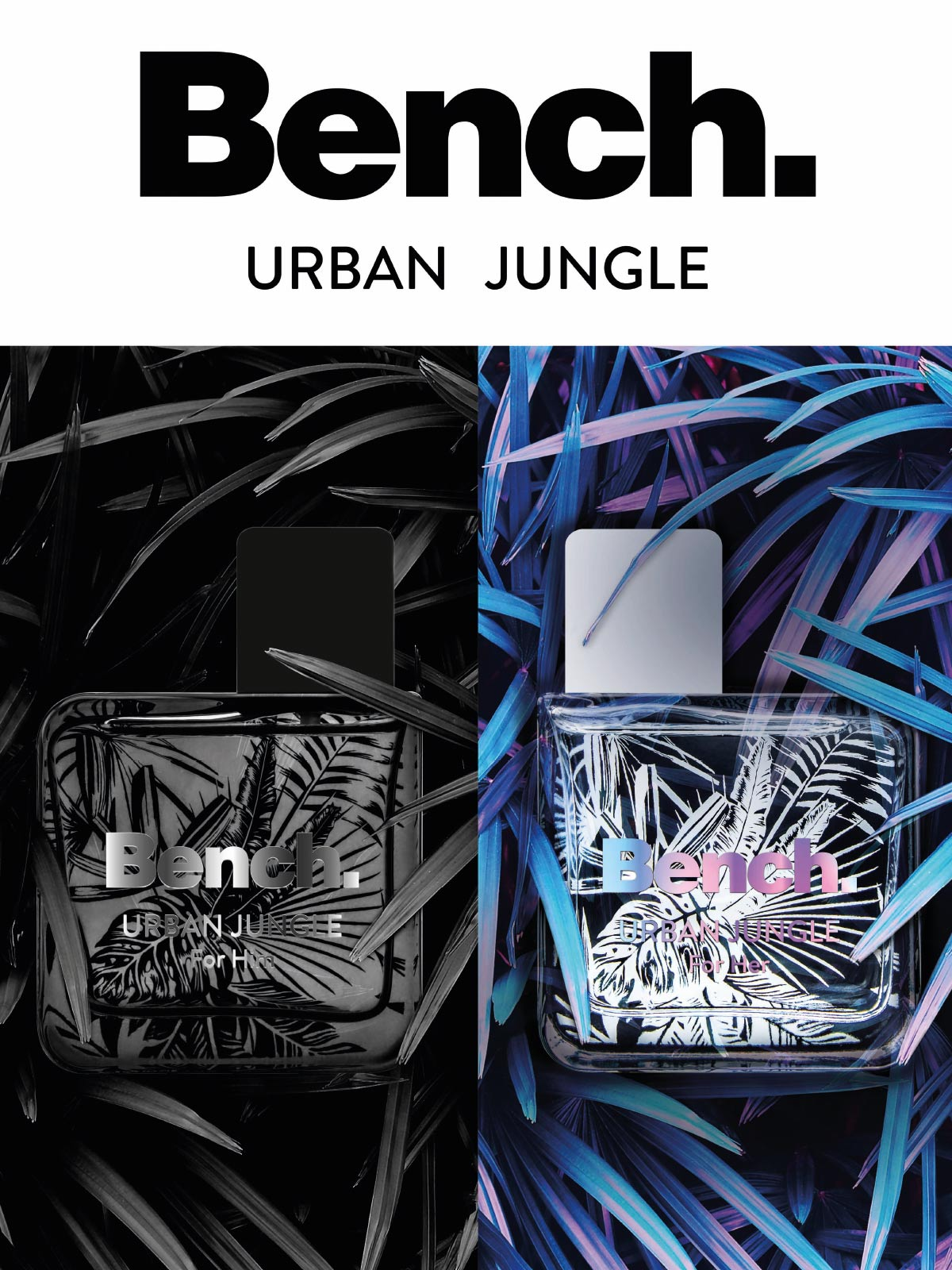 Ein Bild des Benach Urban Jungle Parfume Visuals