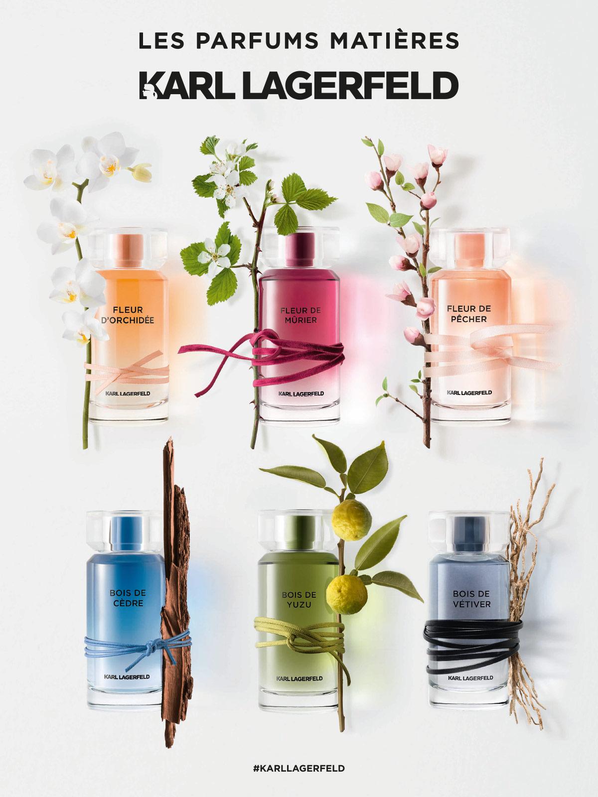 Ein Bild des Karl Lagerfeld Les Parfums Matieres Parfum Visuals