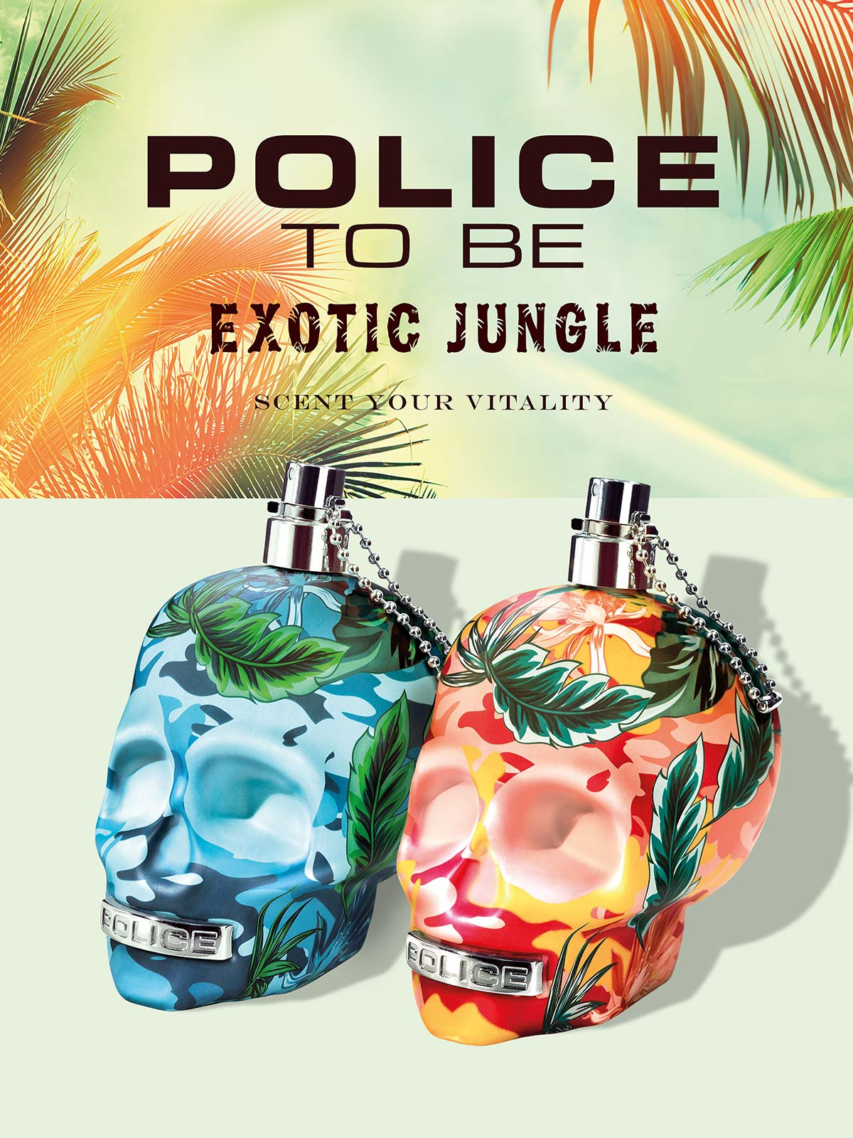 Ein Bild des Police to Be Exotic Jungle Parfume Visual