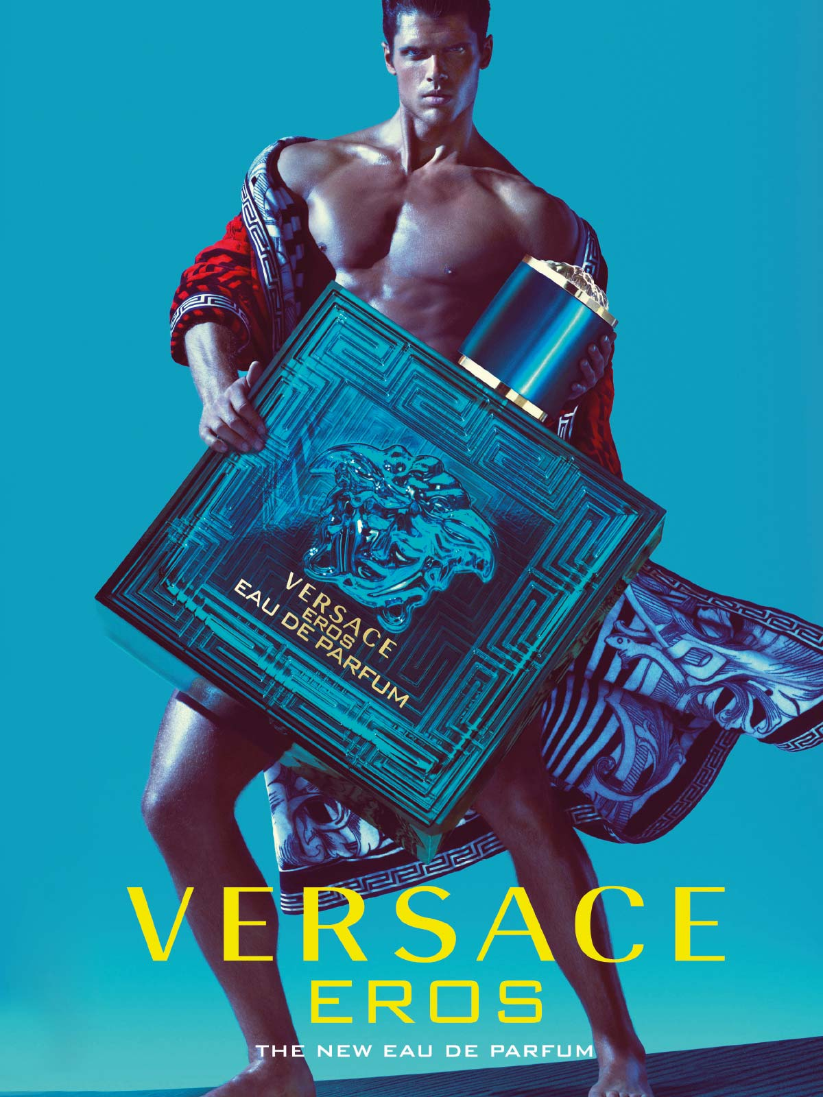 Ein Visual des Versace Eros Parfum Visual