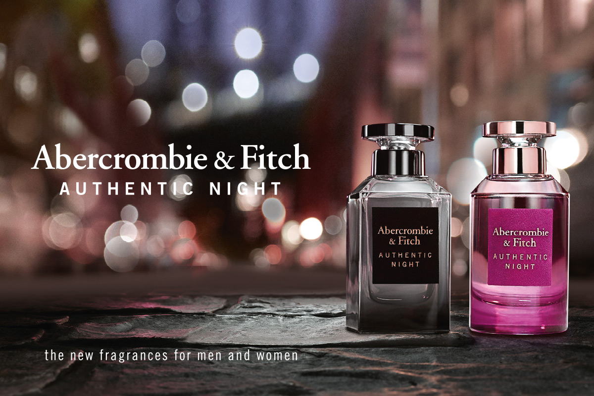 Ein Bild des Abercrombie Fitch Authentic Night Parfume Visual