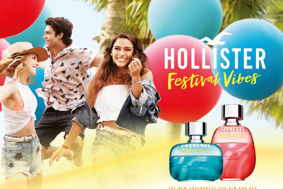 Ein Bild des Hollister Parfume Visuals