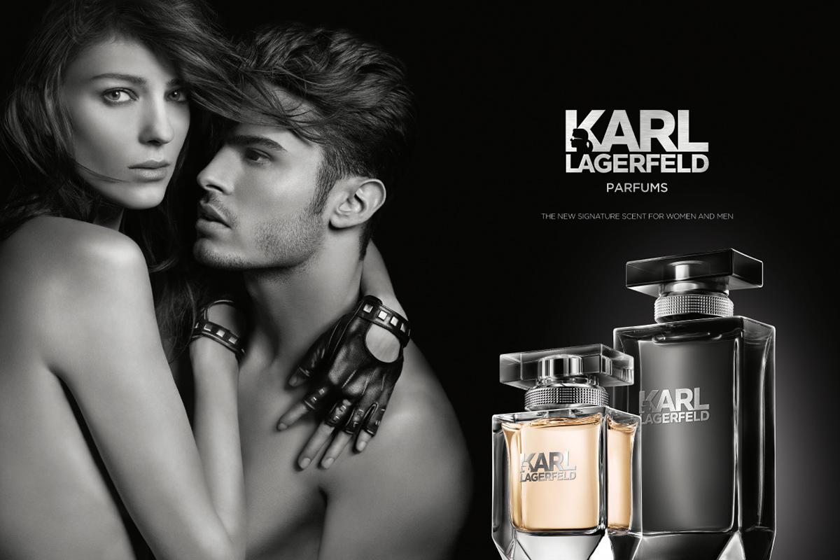 Ein Bild des Karl Lagerfeld Parfume Visuals