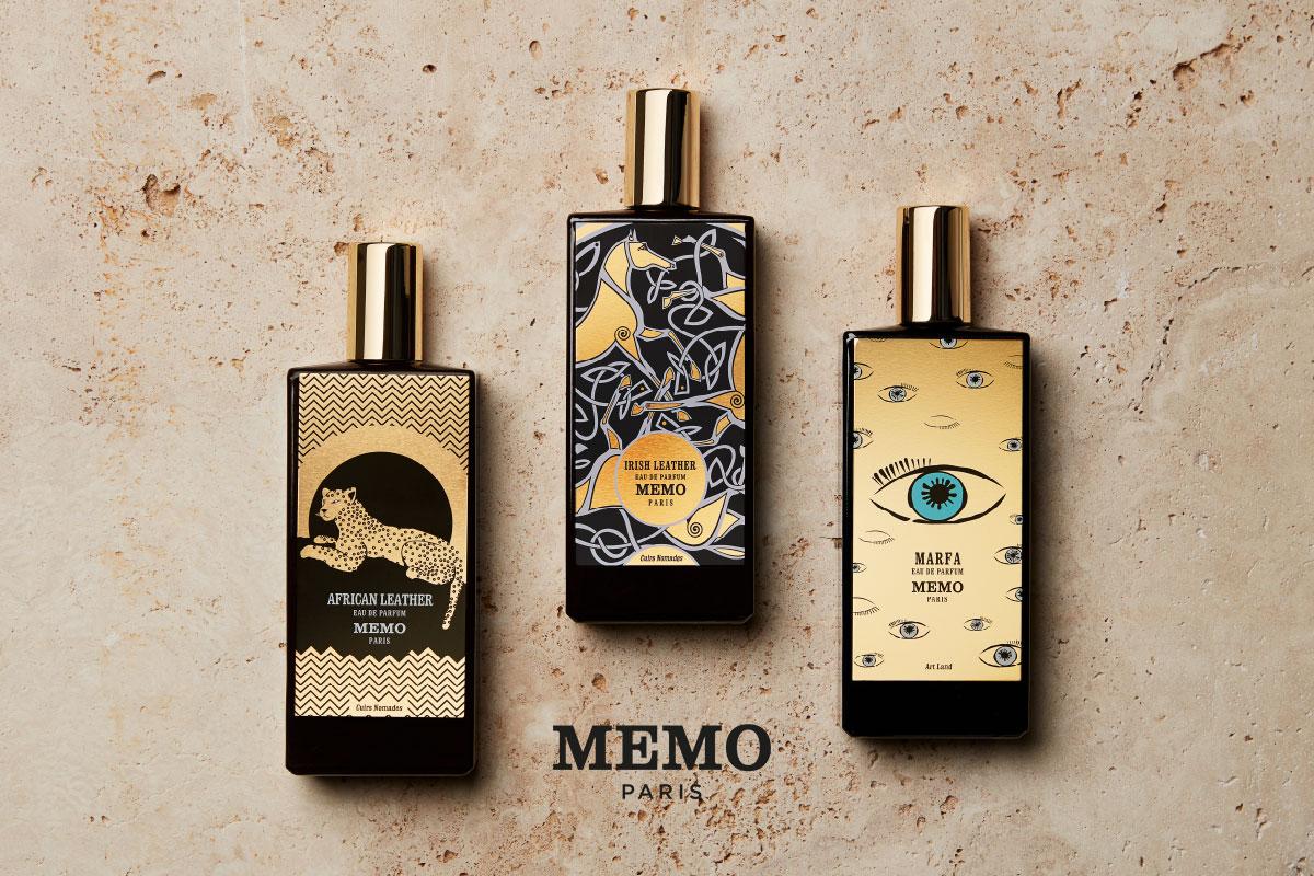 Ein Bild von einem Memo Paris Parfum Visual