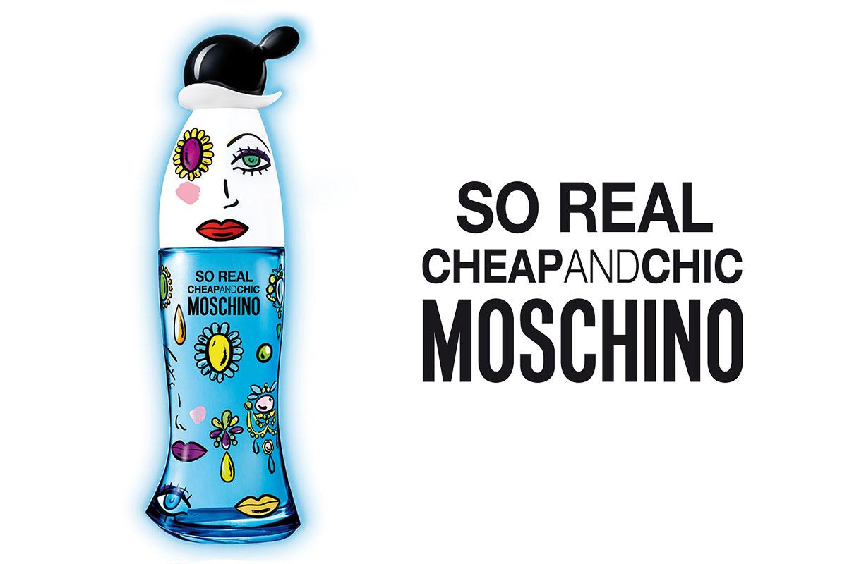 Ein Bild eines Moschino Parfume Produktvisuals