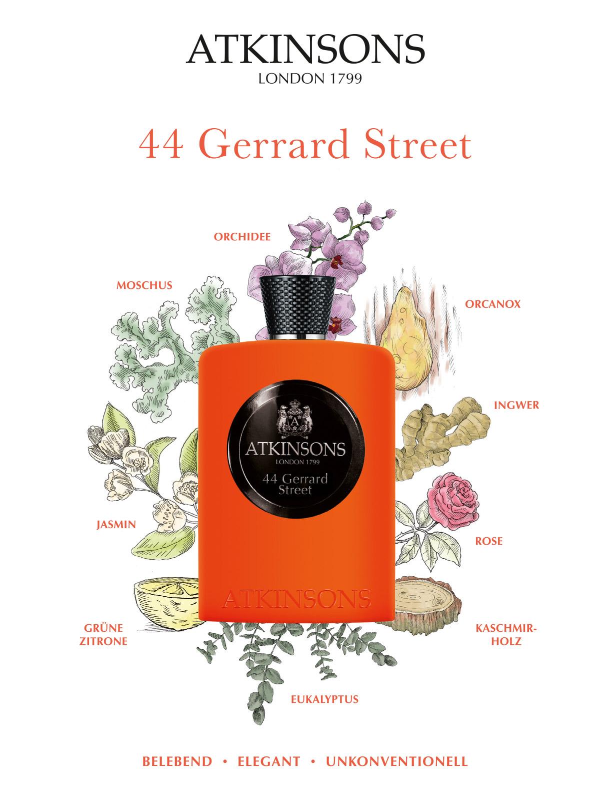 Ein Bild des Atkinsons 44 Gerrard Street Parfum