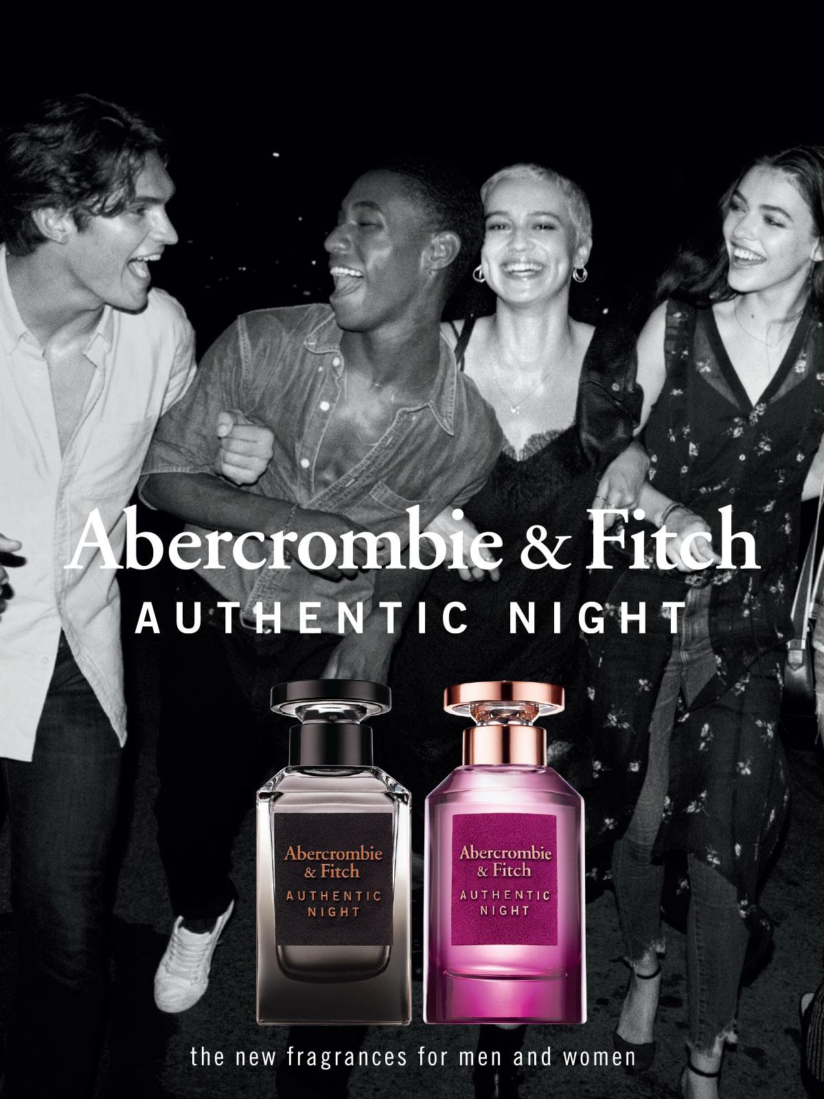 Ein Abercrombie & Fitch Parfum Visual