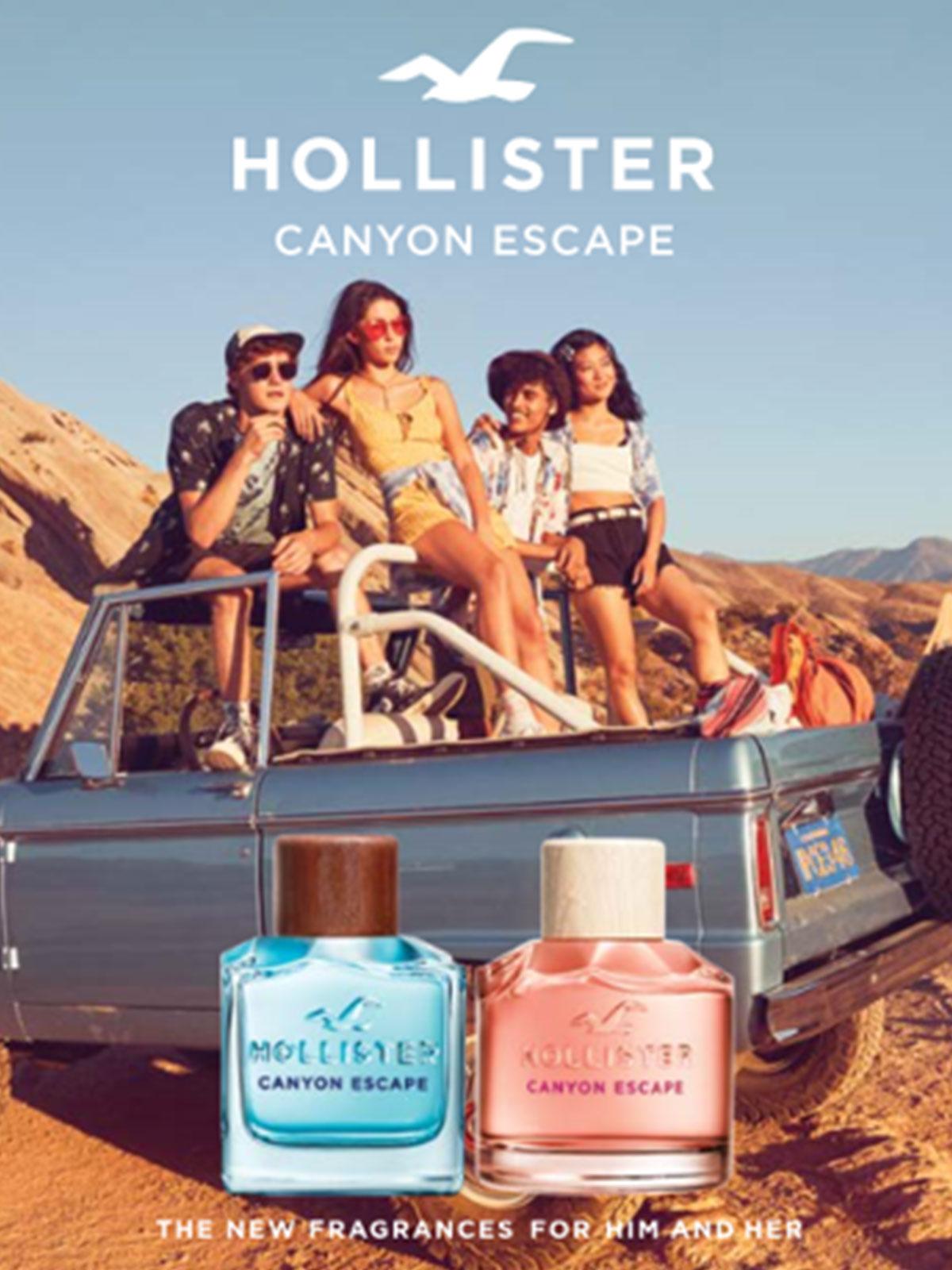 Ein Bild eines Hollister Parfum Visuals