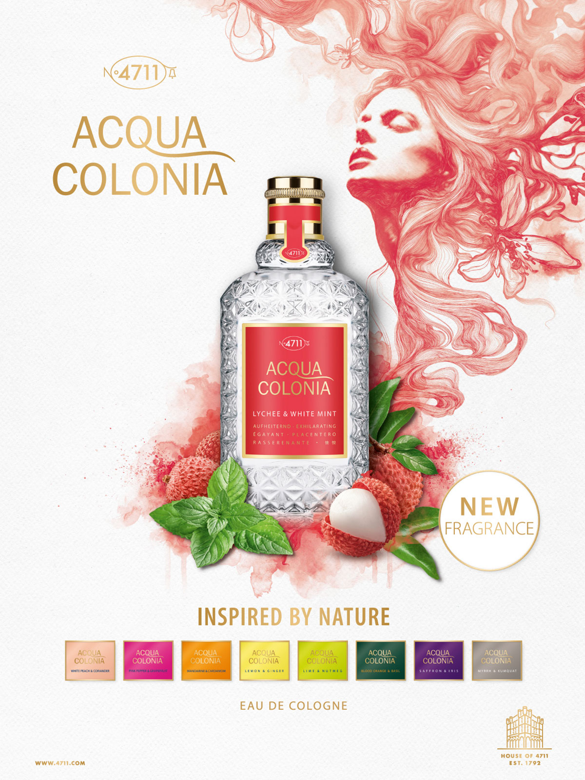 Ein 4711 Acqua Colonia Parfum Visual