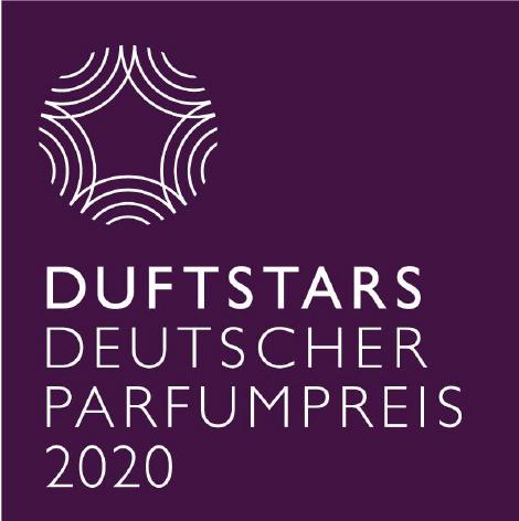 Das ist das Logo des Deutschen Parfumpreis 2020