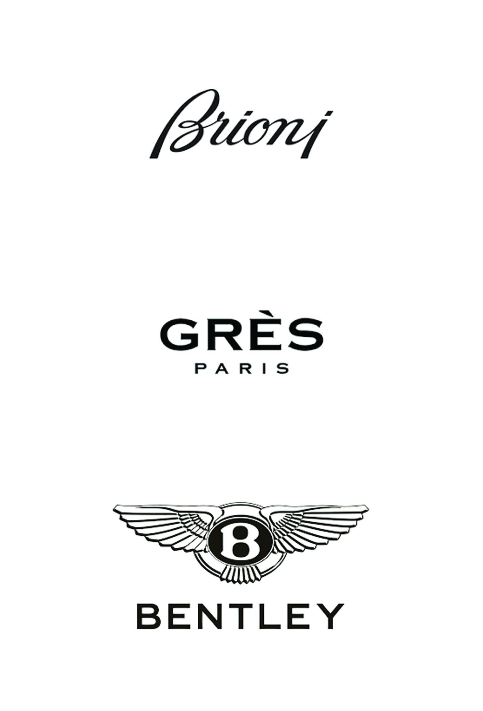 Dies ist ein Bild von Brioni, Grès und Bentley